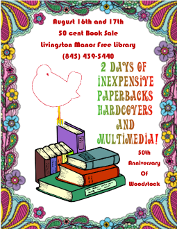 booksale poster(woodstock)